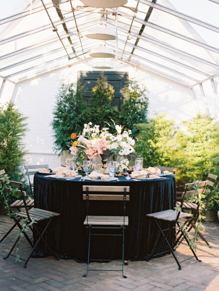 Ruffled - photo by http://www.adambarnes.com - http://ruffledblog.com/organic-greenhouse-wedding-inspiration